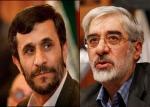 Ahmadinejad e Mussavi