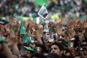 Manifestazione per Mussavi