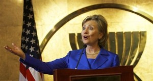 Indonesia US Clinton Asia