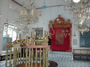 La Sinagoga principale di Cochin