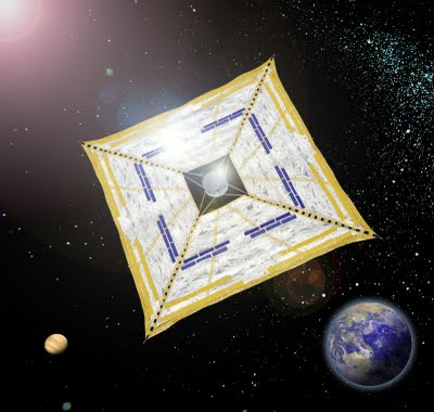 Il Giappone lancia nello spazio la prima nave a vela a energia solare 3